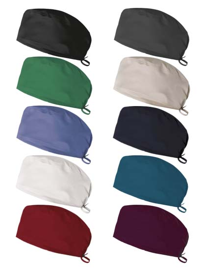 Colores gorro sanitario stretch.